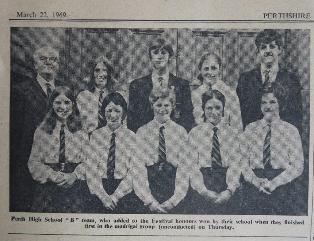 Perth High School 1969
